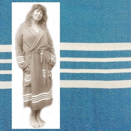 GRACE: luxe dames badjas met ruimte voor vormen